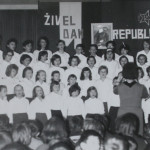 Pevski zbor z Mileno Arbeiter, 1968